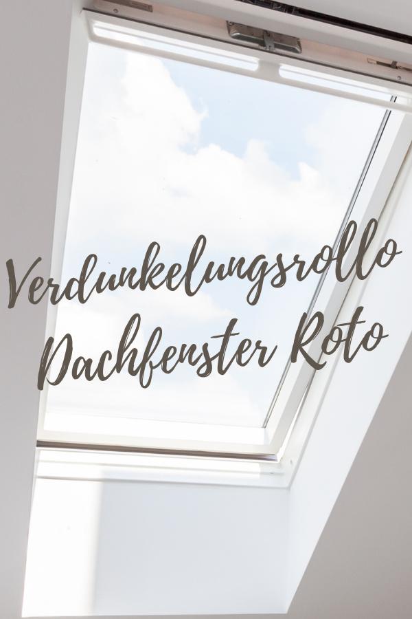 Verdunkelungsrollo Dachfenster Roto
