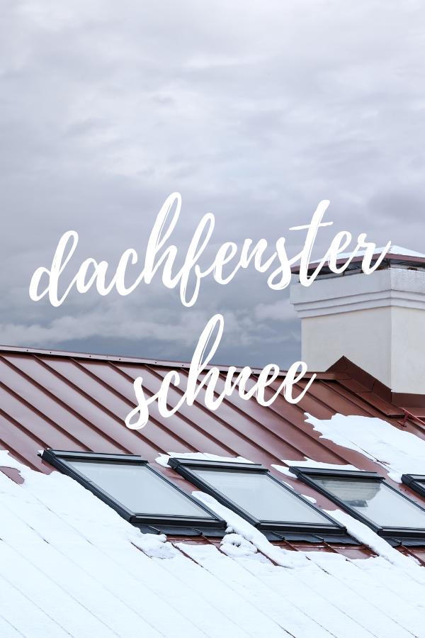 dachfenster schnee