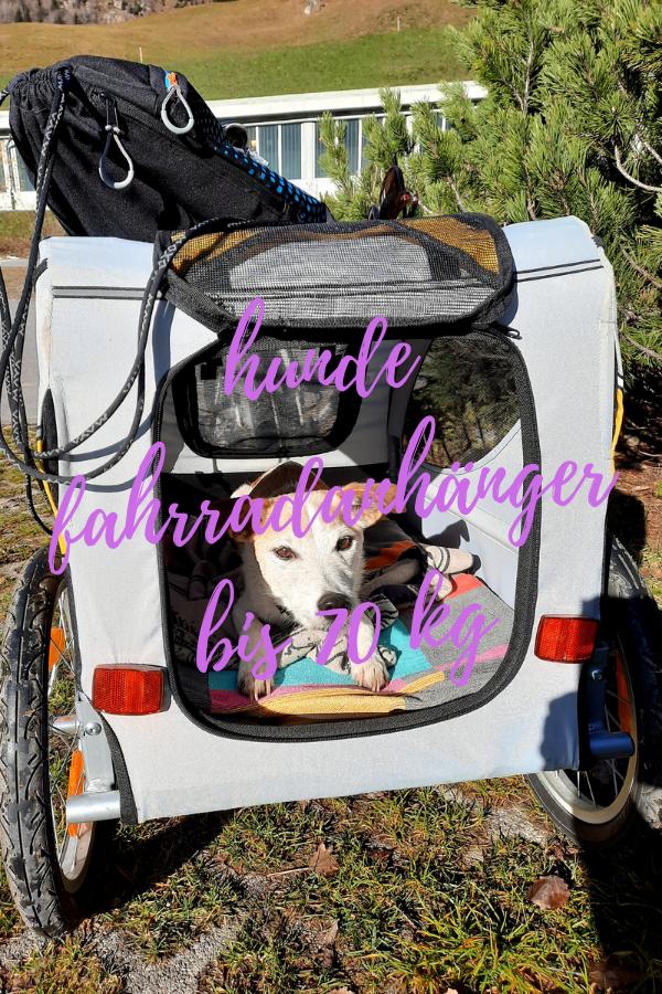 fahrradanhänger hund 70 kg