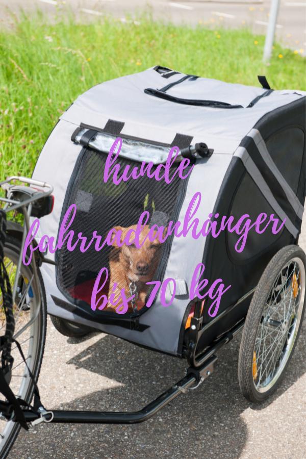 hunde fahrradanhänger bis 70 kg