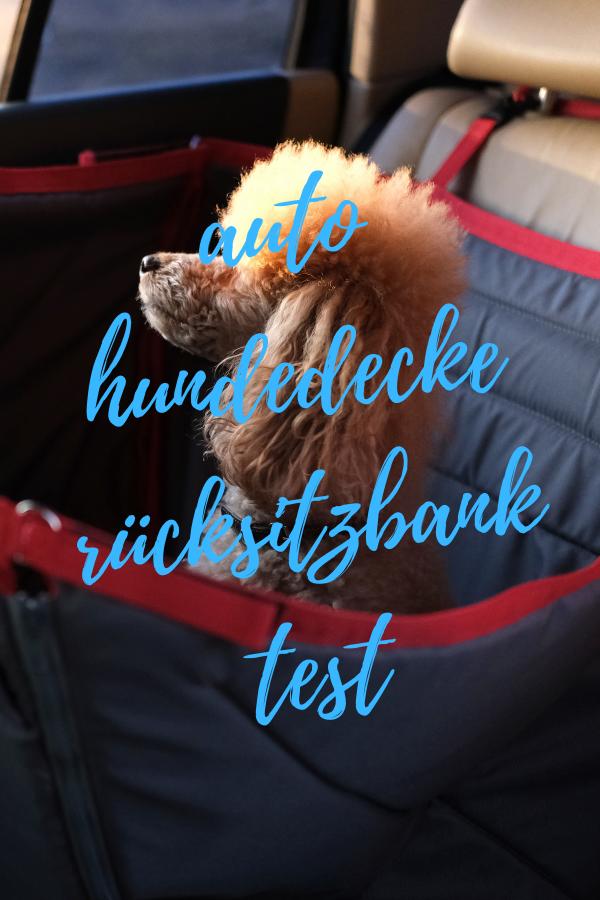 auto hundedecke rücksitzbank test